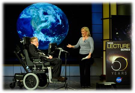 Stephen Hawking - NASA PD