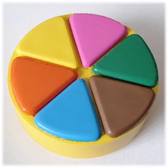 Trivial Pursuit Pies
