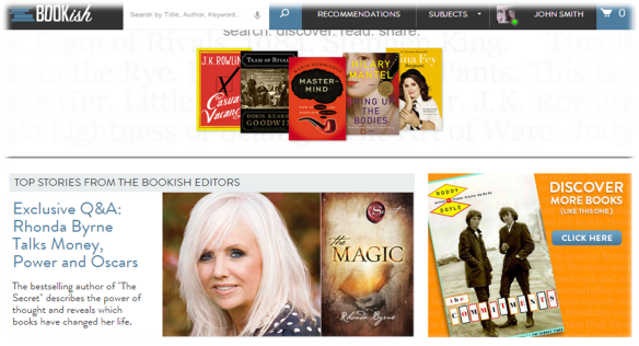 Bookish Screen Shot