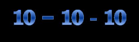 10 10 10 - Suzy Welch