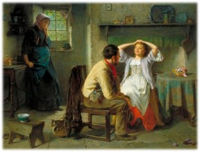 Jealousy and Flirtation - Haynes King 1874 WIkipedia