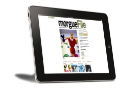 MorgueFile tablet