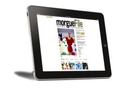 MorgueFile tablet