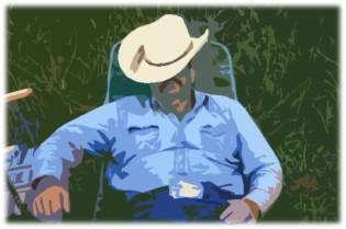 Napping Cowboy