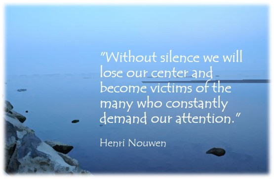 Silence - Nouwen
