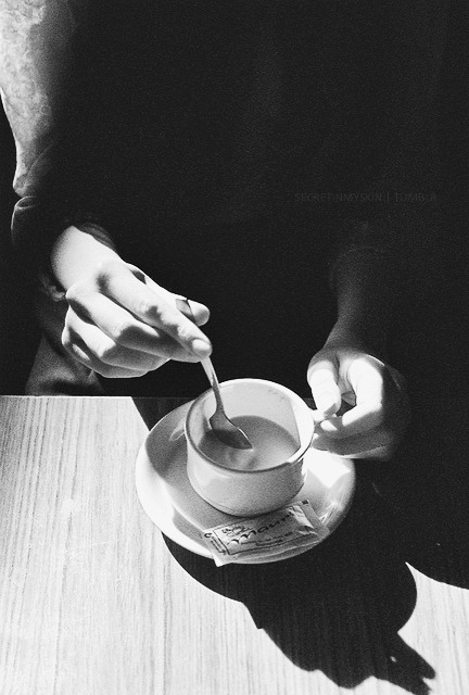 coffee-breakfast-black-and-white