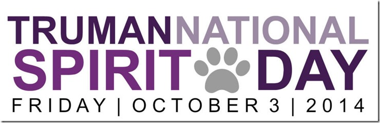 Truman National Spirit Day October 3 2014