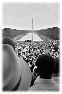 MLK March Washington