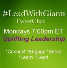 Lead With Giants TWeetchat