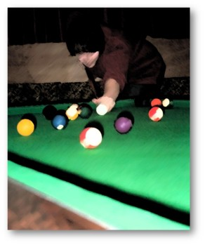 Shooting Pool THE STRATEGIC LEARNER - Games to play on a pool table
