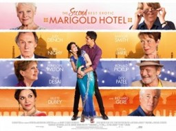 Second Best Exotic Marigold Hotel poster.