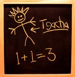 Mistake - chalk board - Morguefile