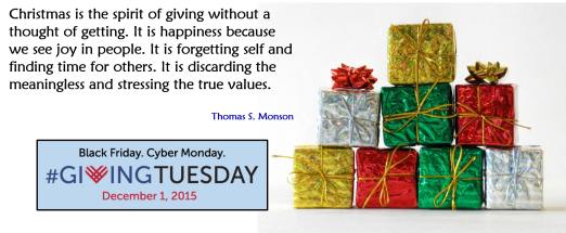 Giving Tuesday 2015 - morguefile