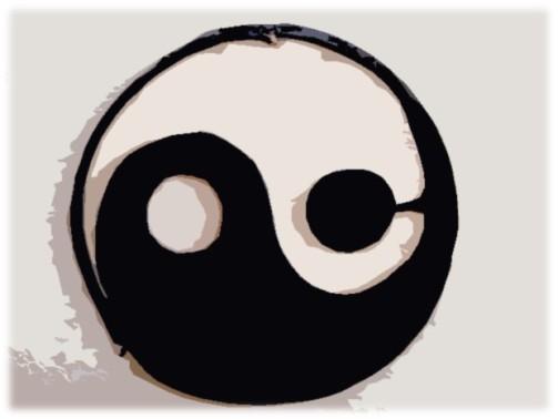 Yin and Yang metal