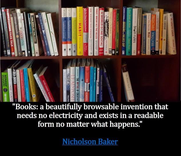 Book Shelf - Me