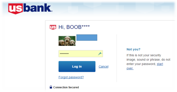US Bank Login - Boob