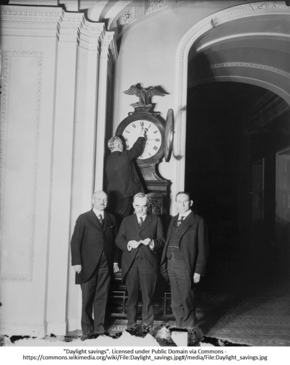 Daylight Saving Time - Vintage