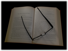 Book and Glasses - Morguefile.com