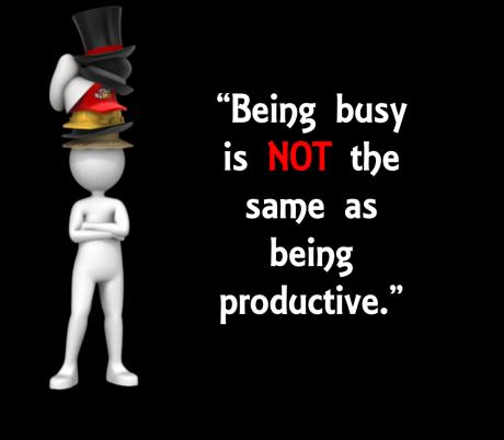 Being Busy - Presenter Media