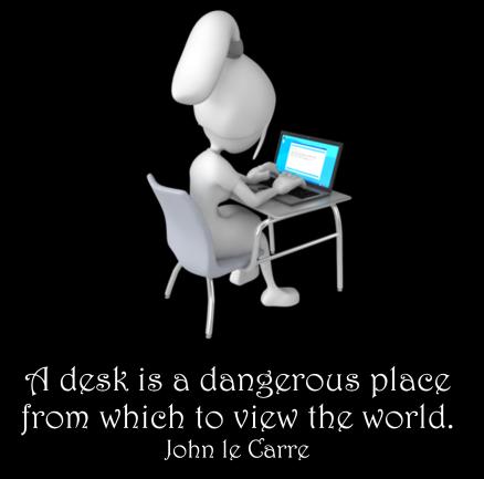 Dangerous Desks - Presenter Media
